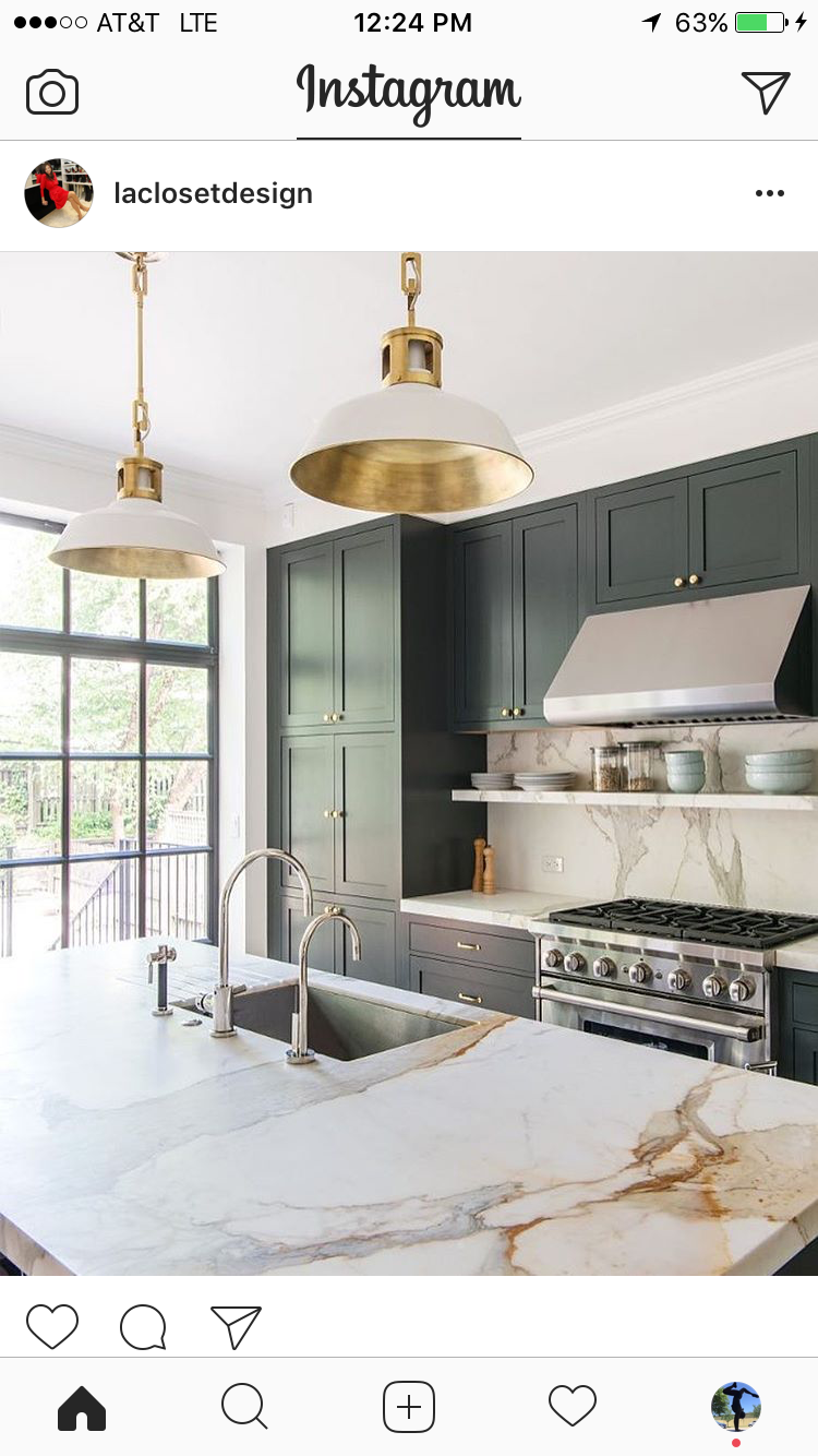 New Slate Grey Kitchen Cabinets