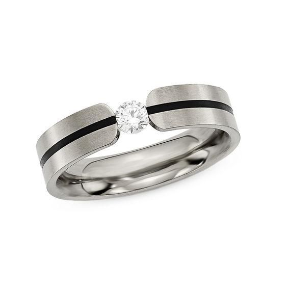 Zales Ladies 2.5mm Wedding Band in 14K White Gold H1bHAde