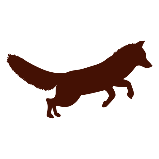 Fox Jumping Silhouette Png Watercolor Fox Fox Silhouette Shadow Images