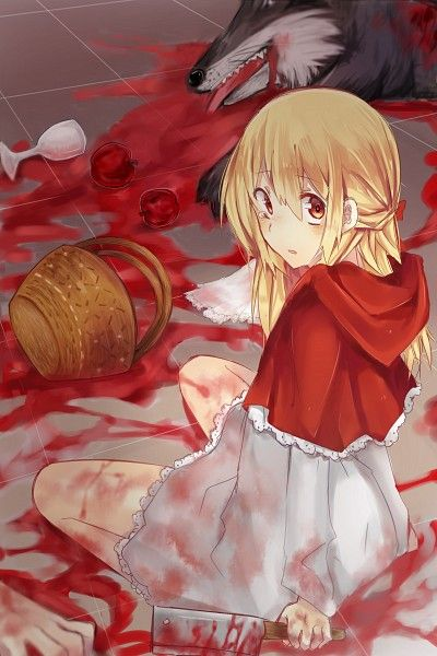 Red Riding Hood isn't just some sweet little girl