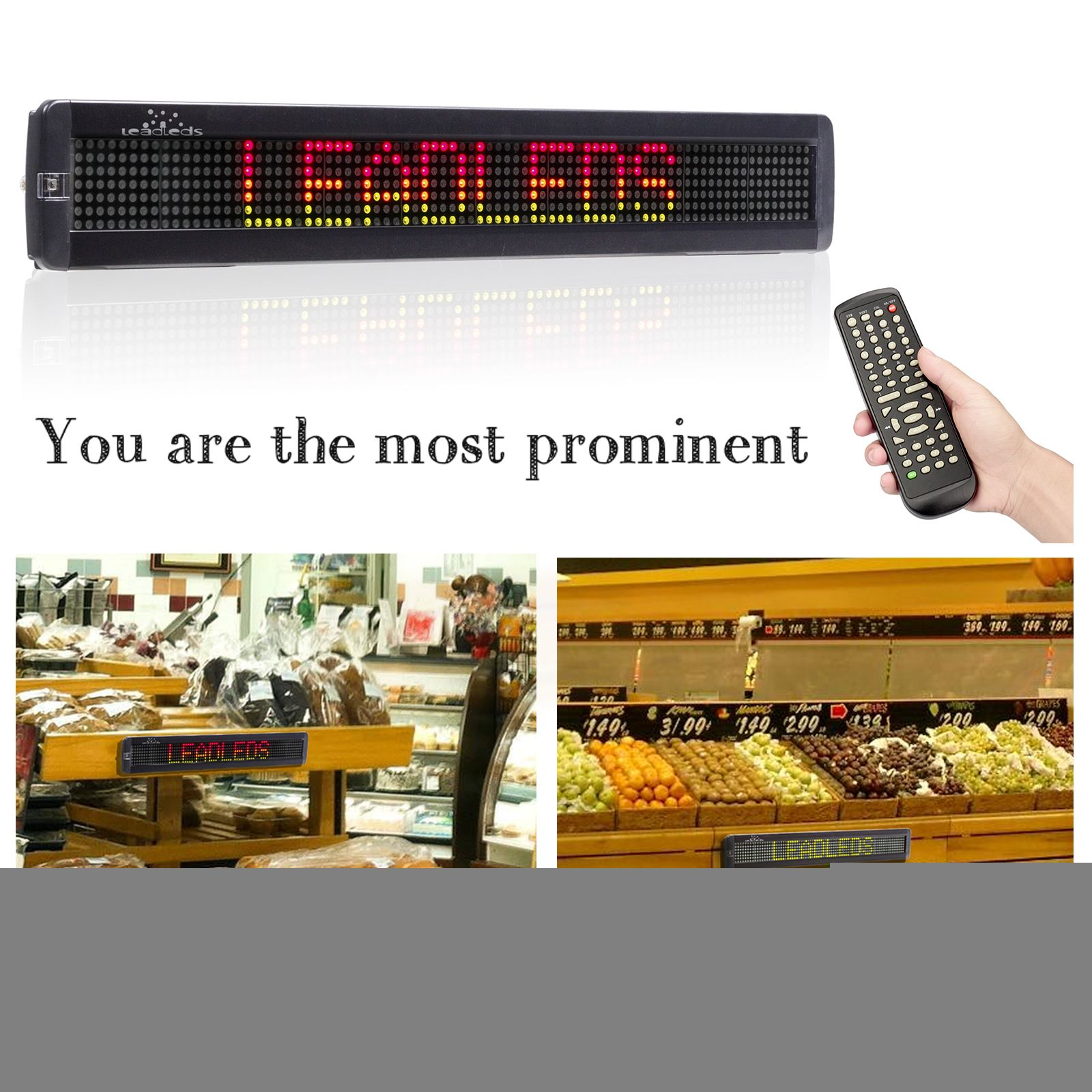 Pin by leadleds on Led Programmable Message Board | Led signs
