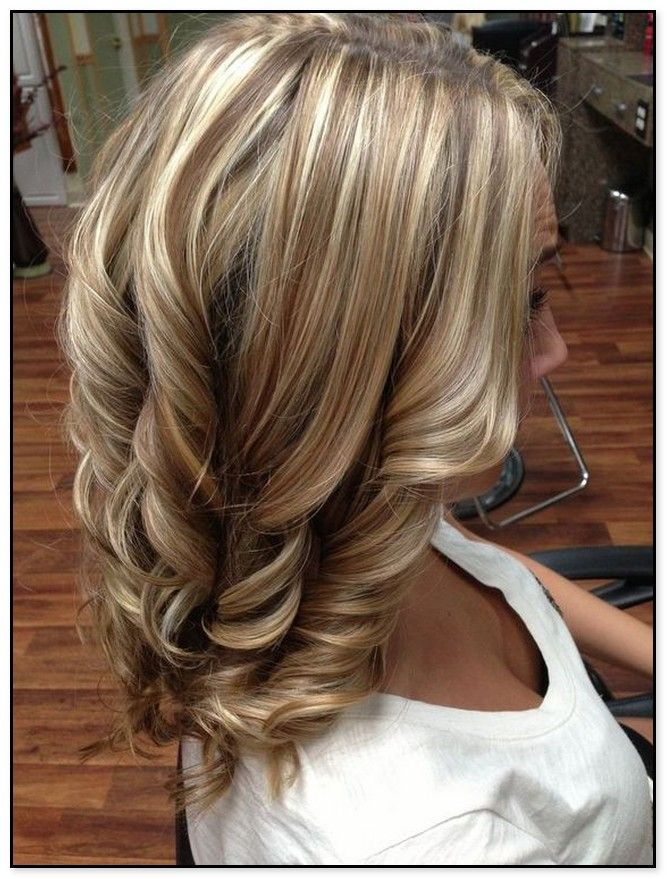 Bleach Blonde Hair With Brown Lowlights Hair Styles Colored
