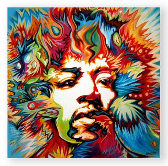 Jimi hendrix music mix beatles art punk art - Jimi hendrix wallpaper psychedelic ...