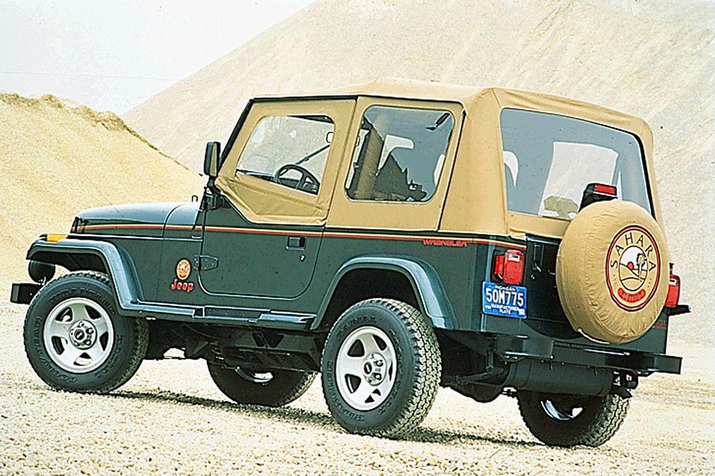 1994 Jeep Wrangler Sahara Jeep Wrangler Jeep Wrangler Yj Jeep