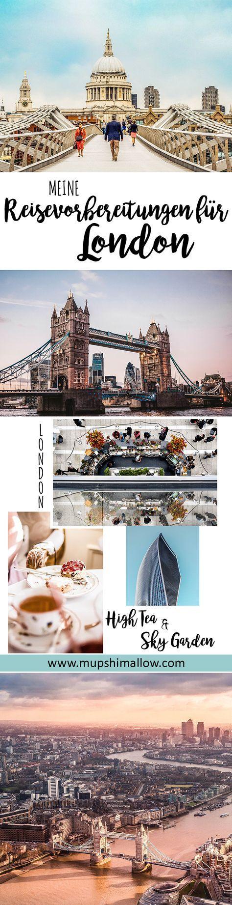 Es ist soweit: Meine Reisevorbereitungen für London