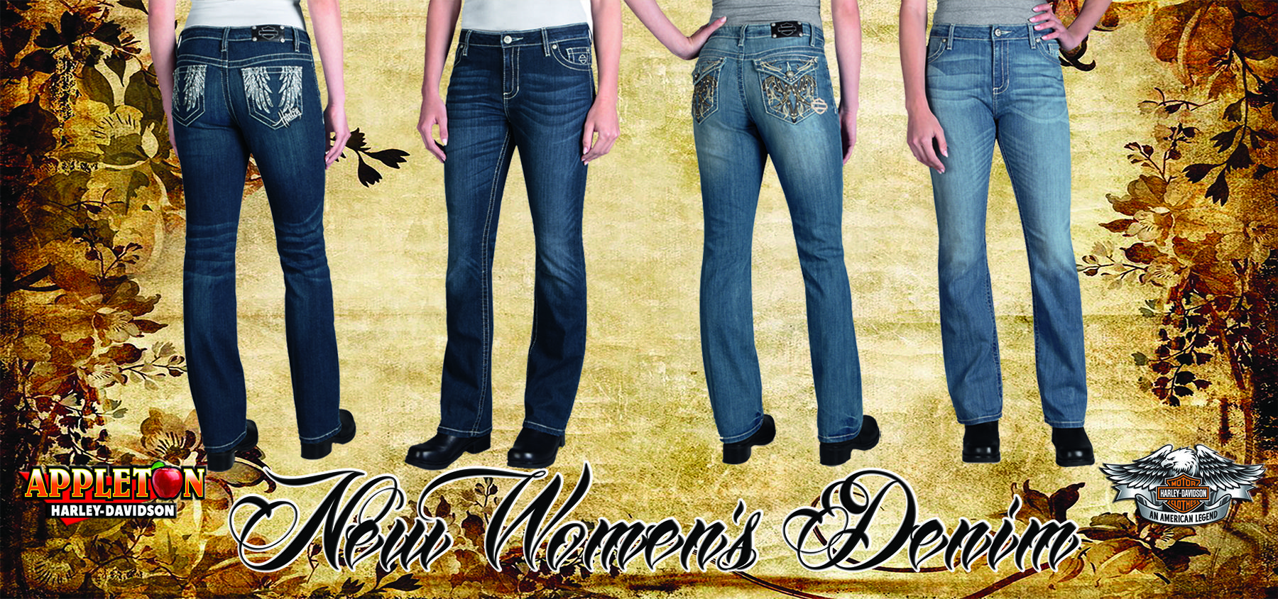 Come Visit The Folks In Motorclothes Harley Davidson Clothing Skinny Jeans Apparel
