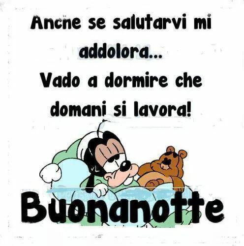 Buonanotte Divertente Pippo Buonanotte Buona Notte Divertente