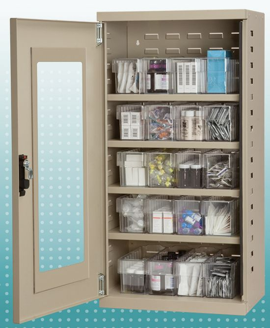 Using Akro Mils 30250 Clear AkroBins To Organize Medical Supplies Saves Time And Money 5S Lean Hospital