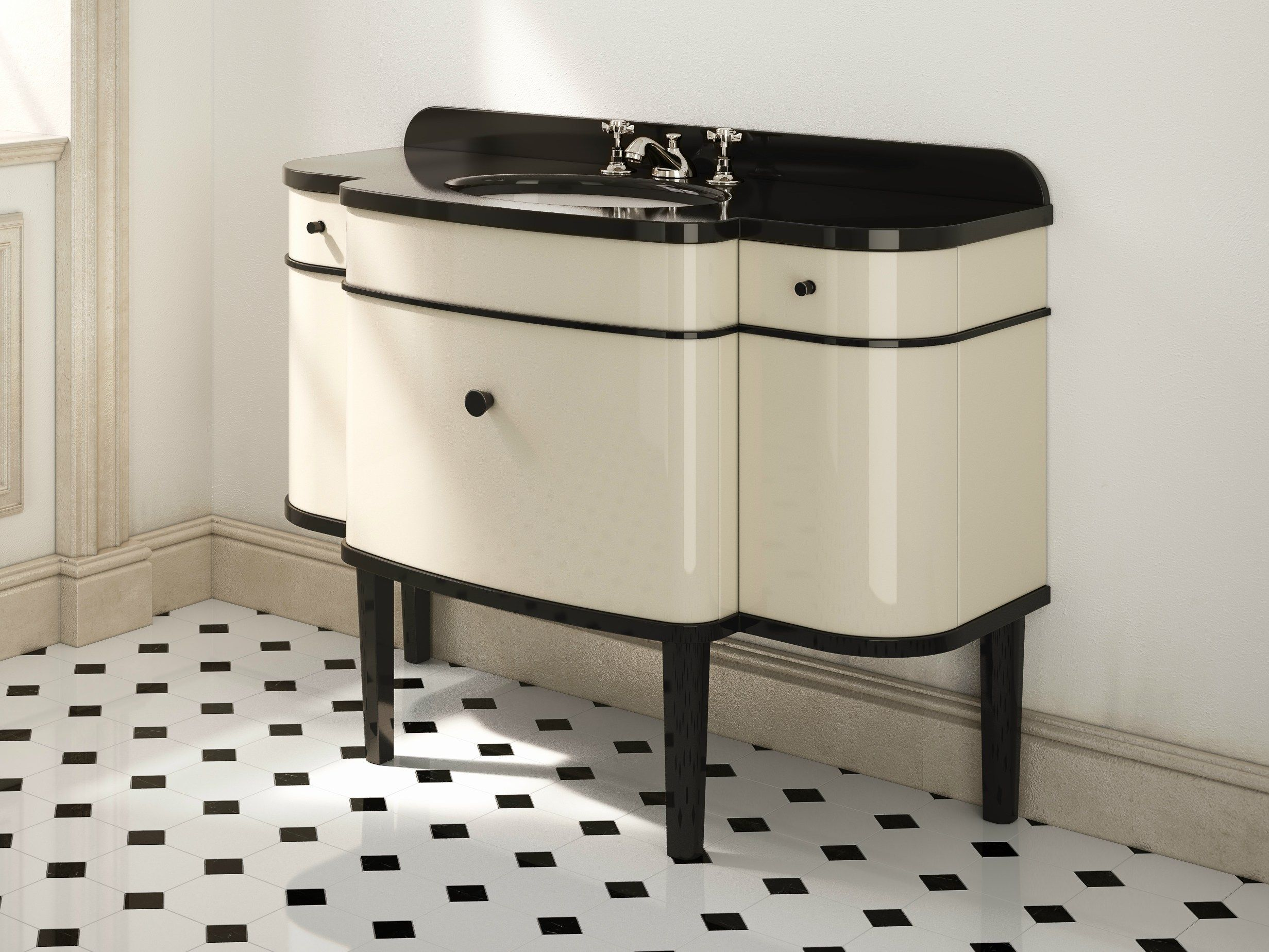 Lavabo Art Deco | Muebles | Pinterest | Art deco, 1930s bathroom and ...