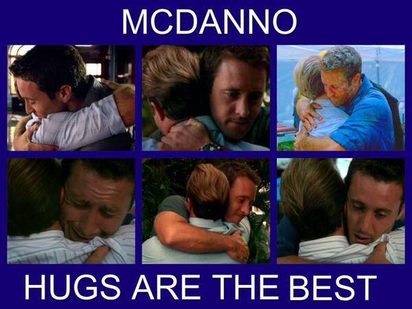 McDanno Hugs