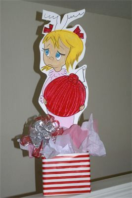 Grinch - Gift Table : Cindy Lou Who