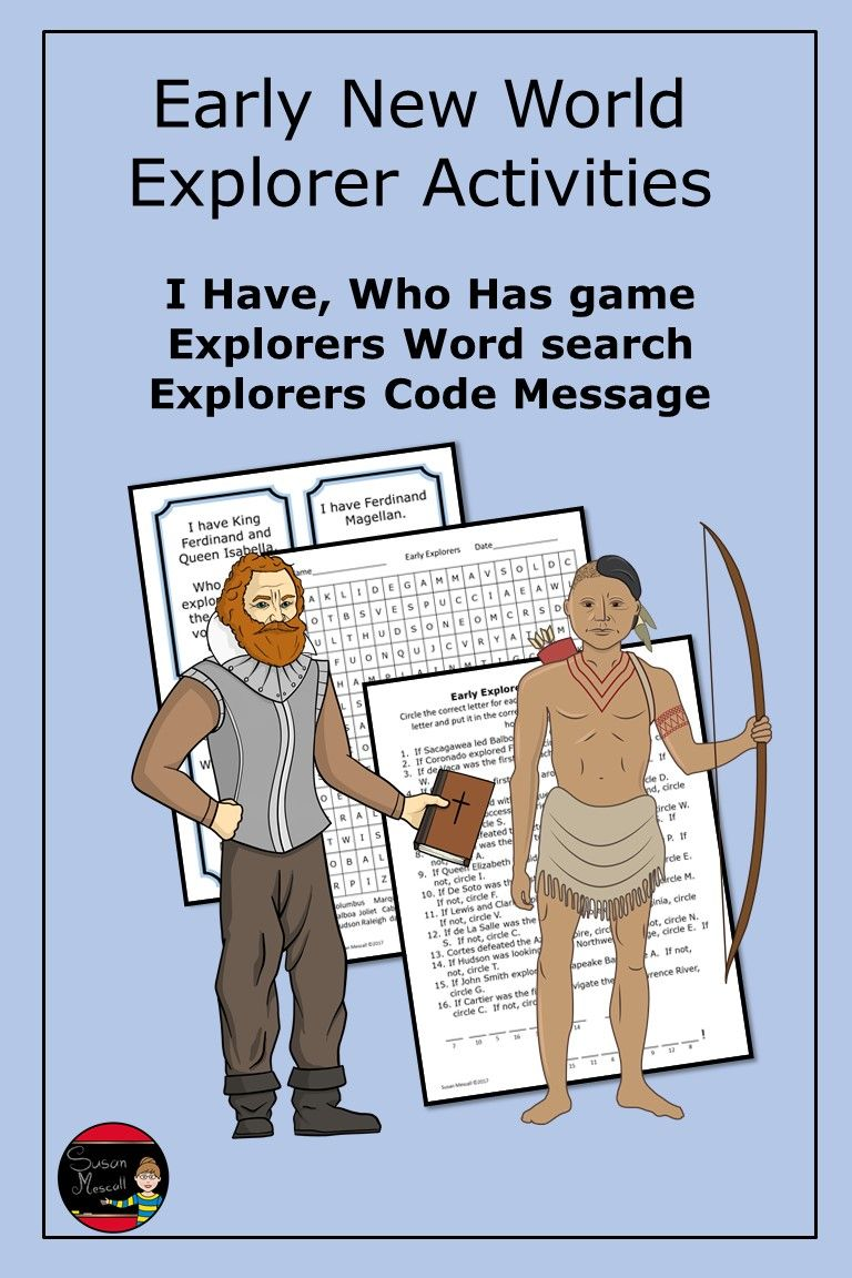 Photo of Early New World Explorers Activities