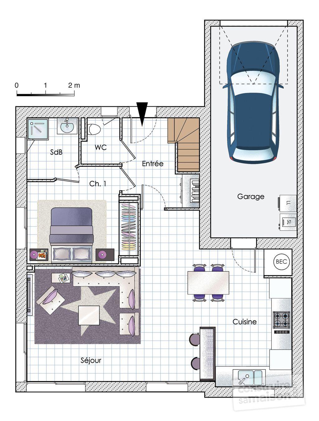 Une maison passive très accessible | Maison à étage en 2019 ...