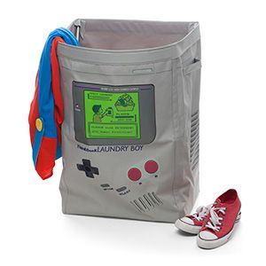 Keep your laundry off your floor in wonderful 8-Bit portable gaming style. And, maybe, clean it once in a while.