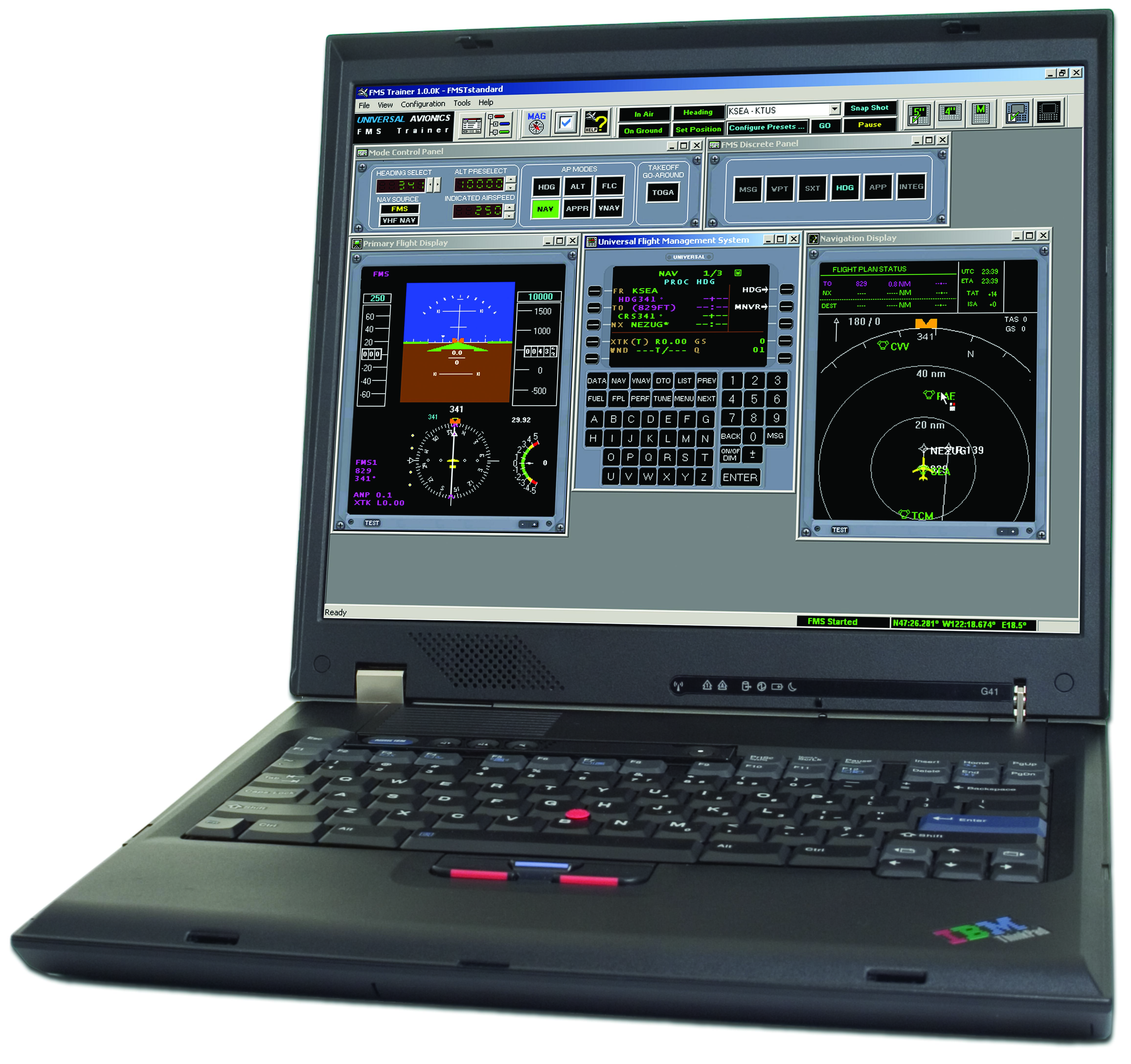 Universal Avionics' Flight Management System Trainer (FMST