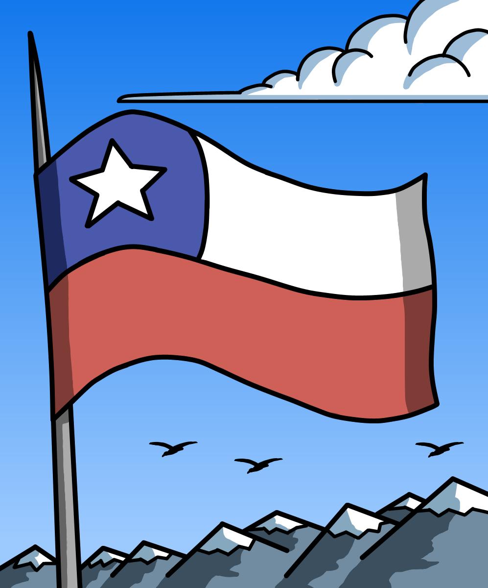 Bandera De Chile Chilean Flag Flag Country Flags