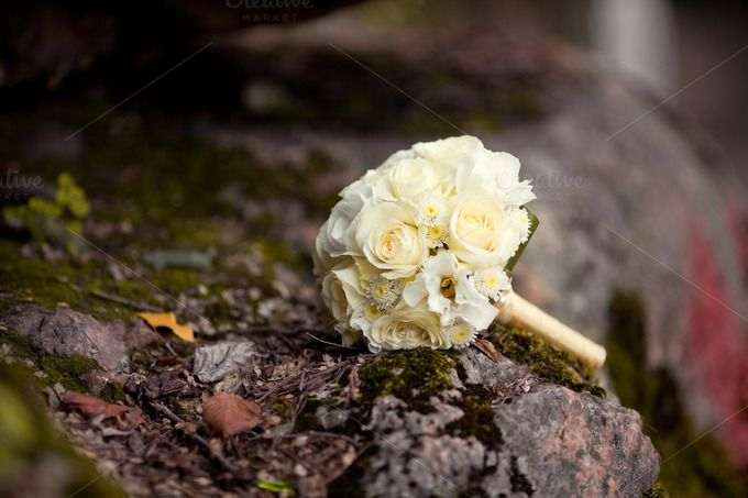 Check out Pastel nice wedding bouquet with by Wedphoto on Creative Market