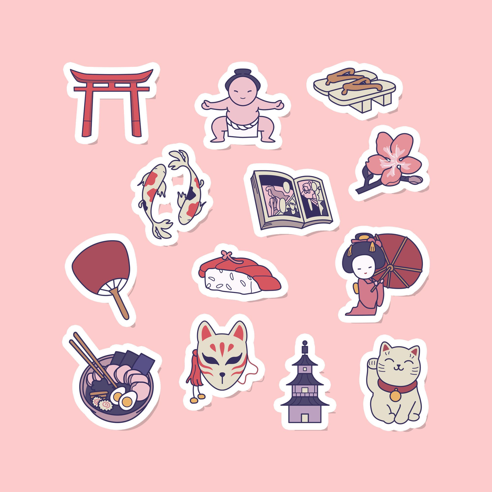 Pin On Anime Journal Stickers