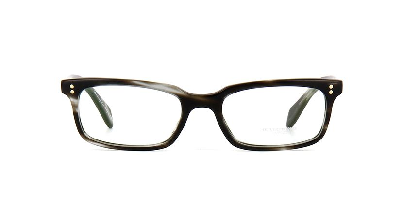 f3fc876d31 Oliver Peoples Denison OV5102 1486 Ebony Wood Semi Matte Glasses
