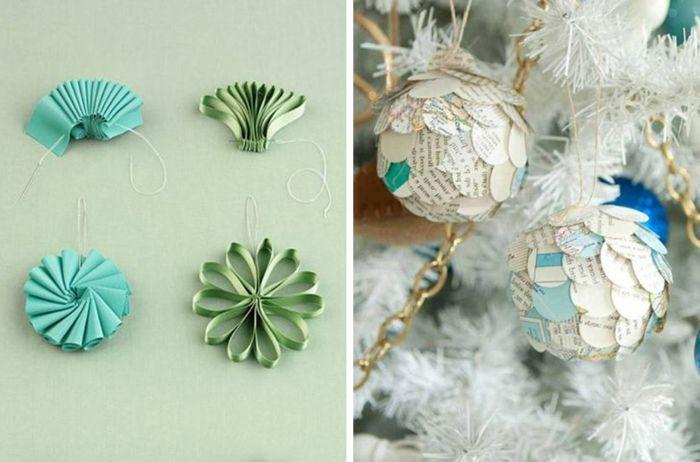 Manualidades navidad ornamentos de papel adornos con reciclaje diy pinterest adornos con - Manualidades de navidad con papel ...