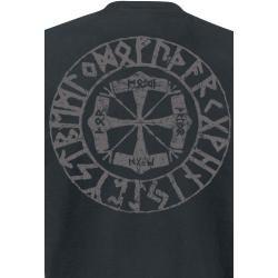 Amon Amarth Viking Horses Herren-T-Shirt – schwarz – Offizielles Merchandise