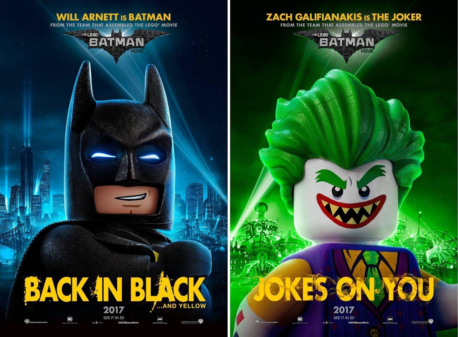 The LEGO Batman Movie Character Poster Set 1 Film