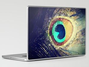 Peacock Feather  Laptop & iPad Skin by Love2Snap - $30.00