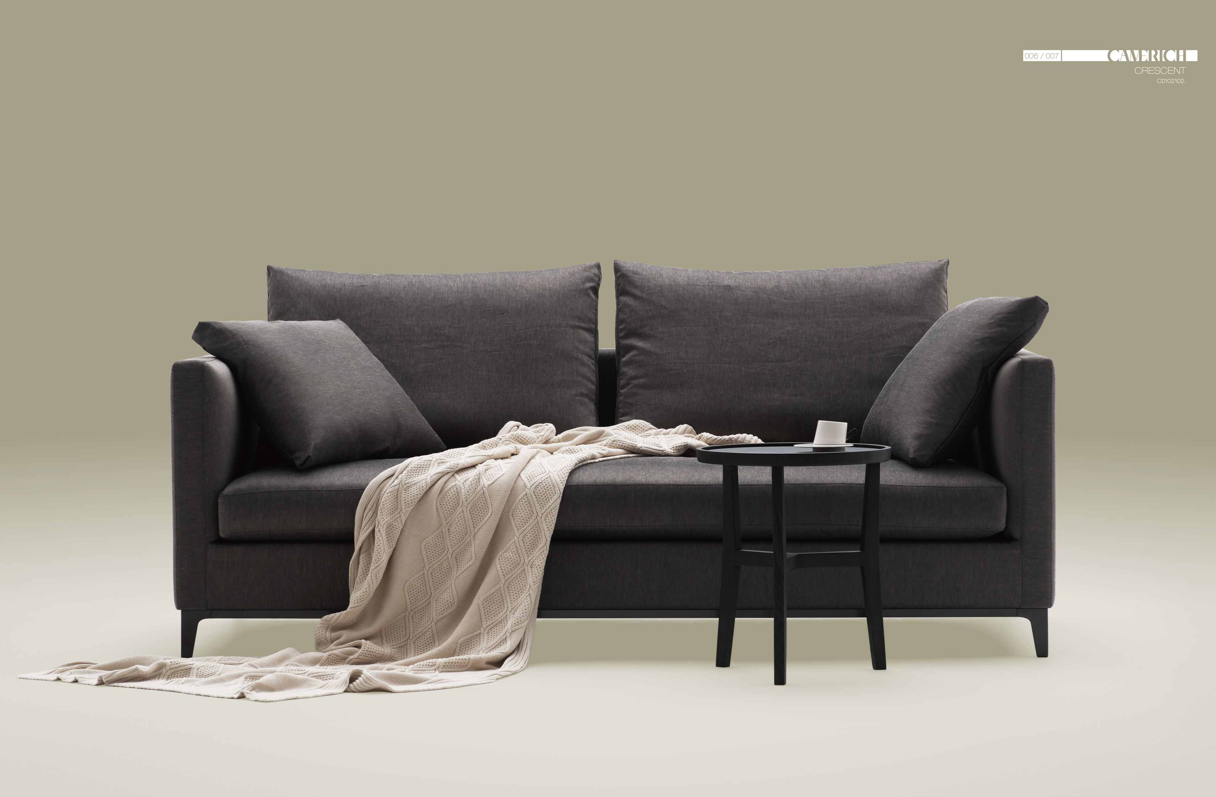 Crescent Sofa Camerich Table With Cabinets Bed Review Home Co