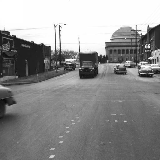 Ford Of Tulsa: 10th & Main St, 1953