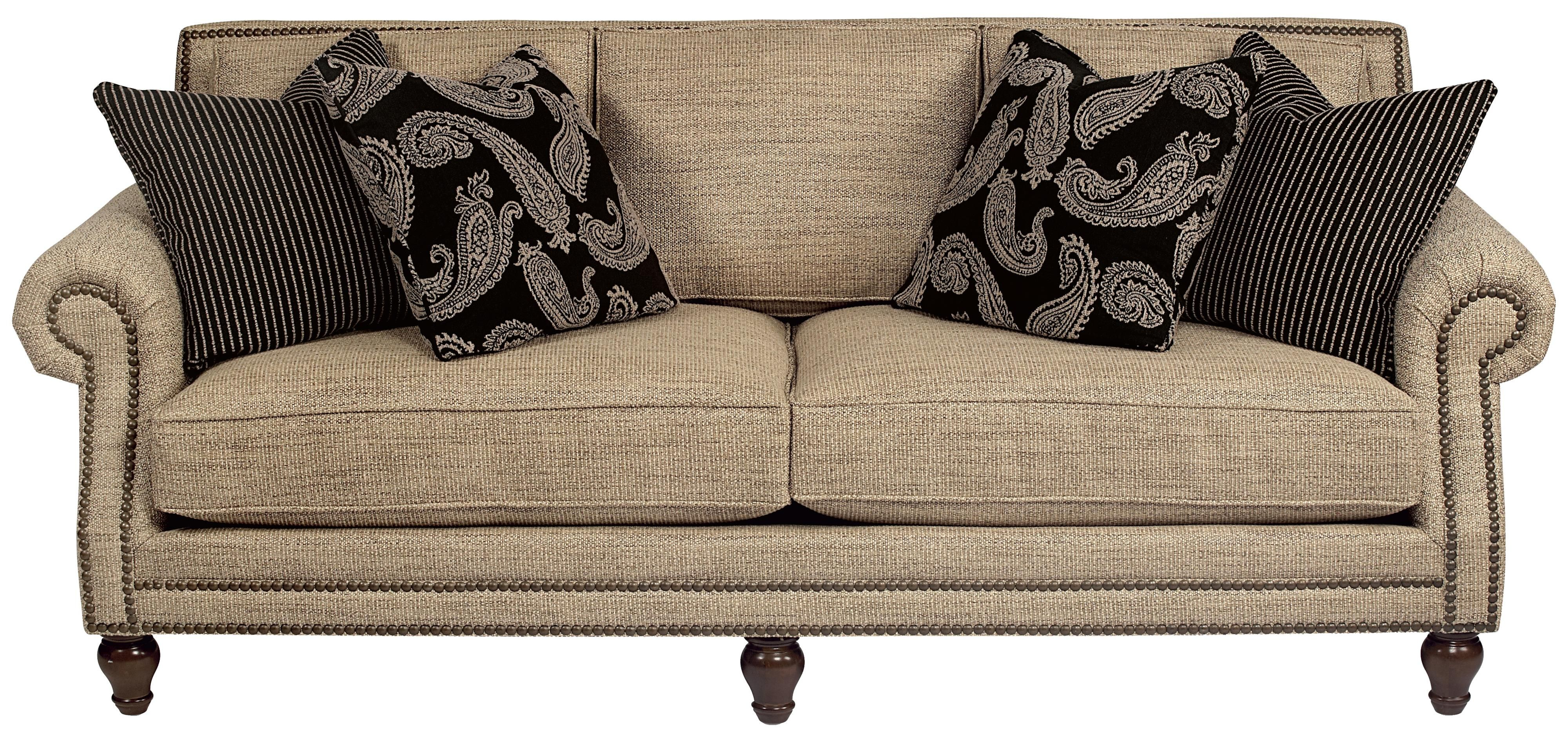 926 Traditional High End Sofa with Nail Head Trim by Alan White ...