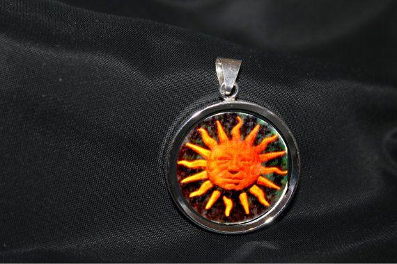 Anhänger Sonnenhologramm Holofilmserien von von GoldschmiedeKarbe
