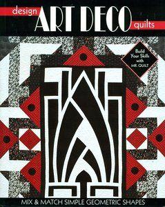Art deco quilt pattern book