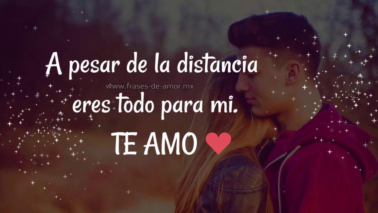 Mensaje Para Mi Amor A Distancia Te Amo Te Extrano Te Necesito