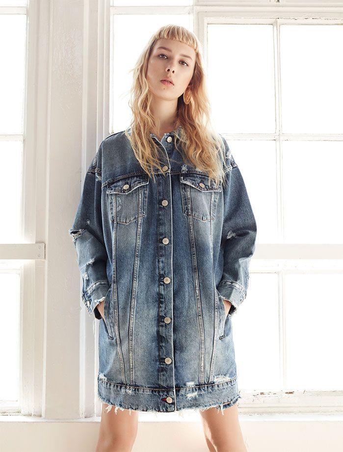 Blog Moda Pinterest Divine Vestidos Pin Oversize Vaqueros De En qaZfZH