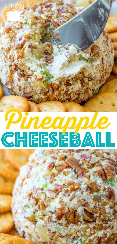 Pineapple Cheeseball #fingerfoods