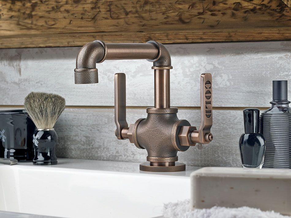 Rustieke Badkamer Kranen : Kranen #faucet. voor meer keukenkranen kijk ook eens op http: www