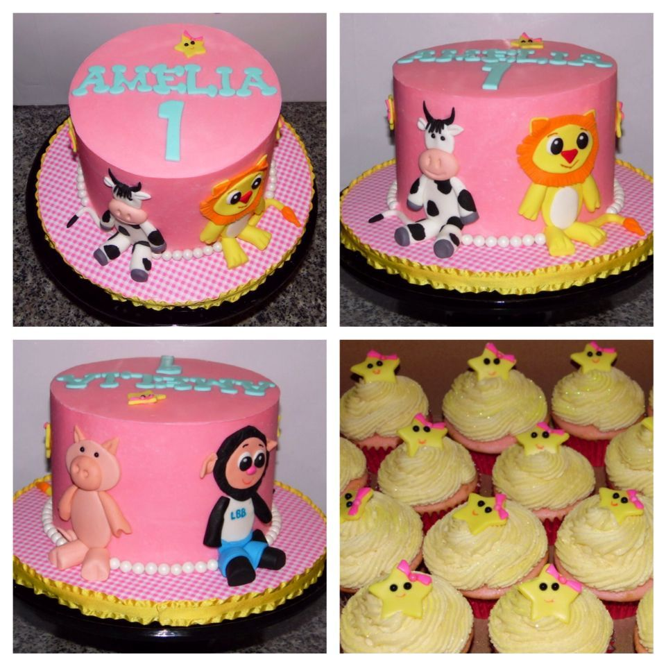 Little Baby Bum 1st Birthday Cake Food For Zayden Pinterest