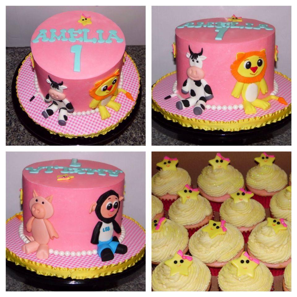 Little Baby Bum 1st Birthday Cake Food for Zayden