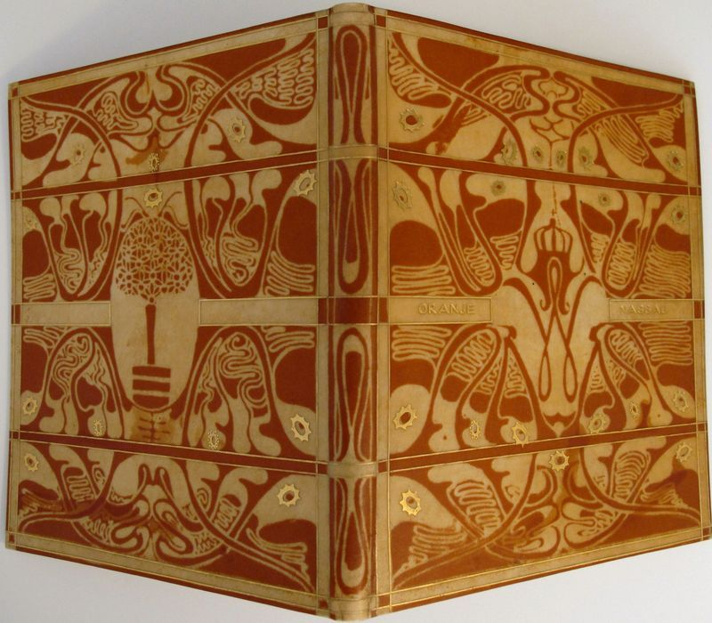 Binding Design By Carel Adolph Lion Cachet (1864-1945), (a