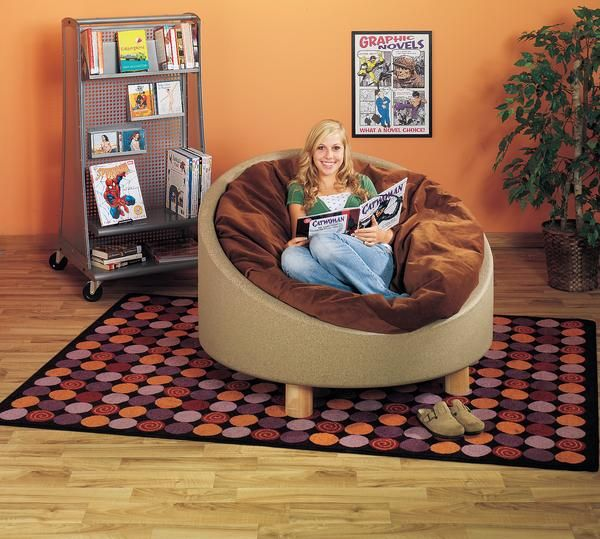 Omnipod Bean Bag Chair Library Furniture Home Depot