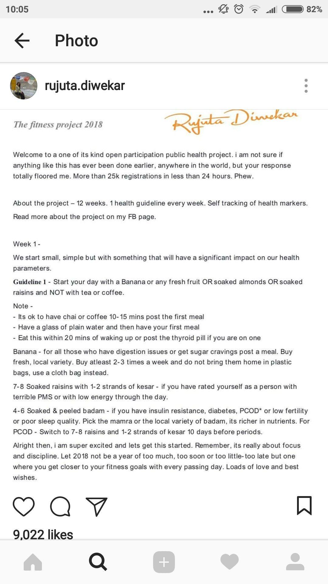 Rujuta Diwekar Wiki Diet Plan Chart Books Age Fees Tips Sample