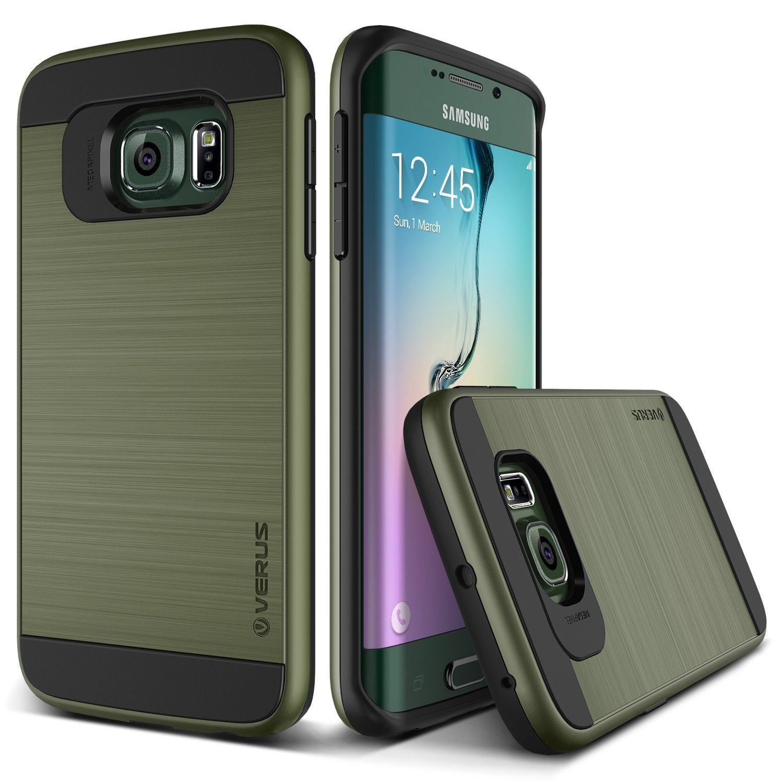 Verus Samsung Galaxy S6 Edge Case Verge Series - Military Green