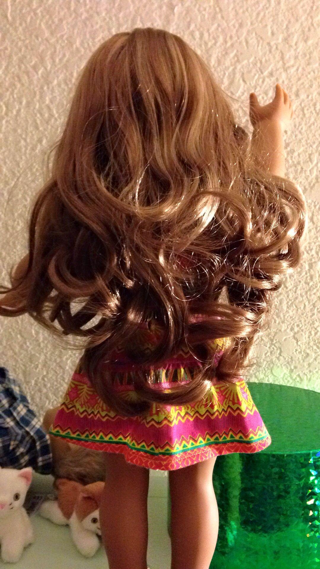 Curly hair lea clark american girl american girl doll