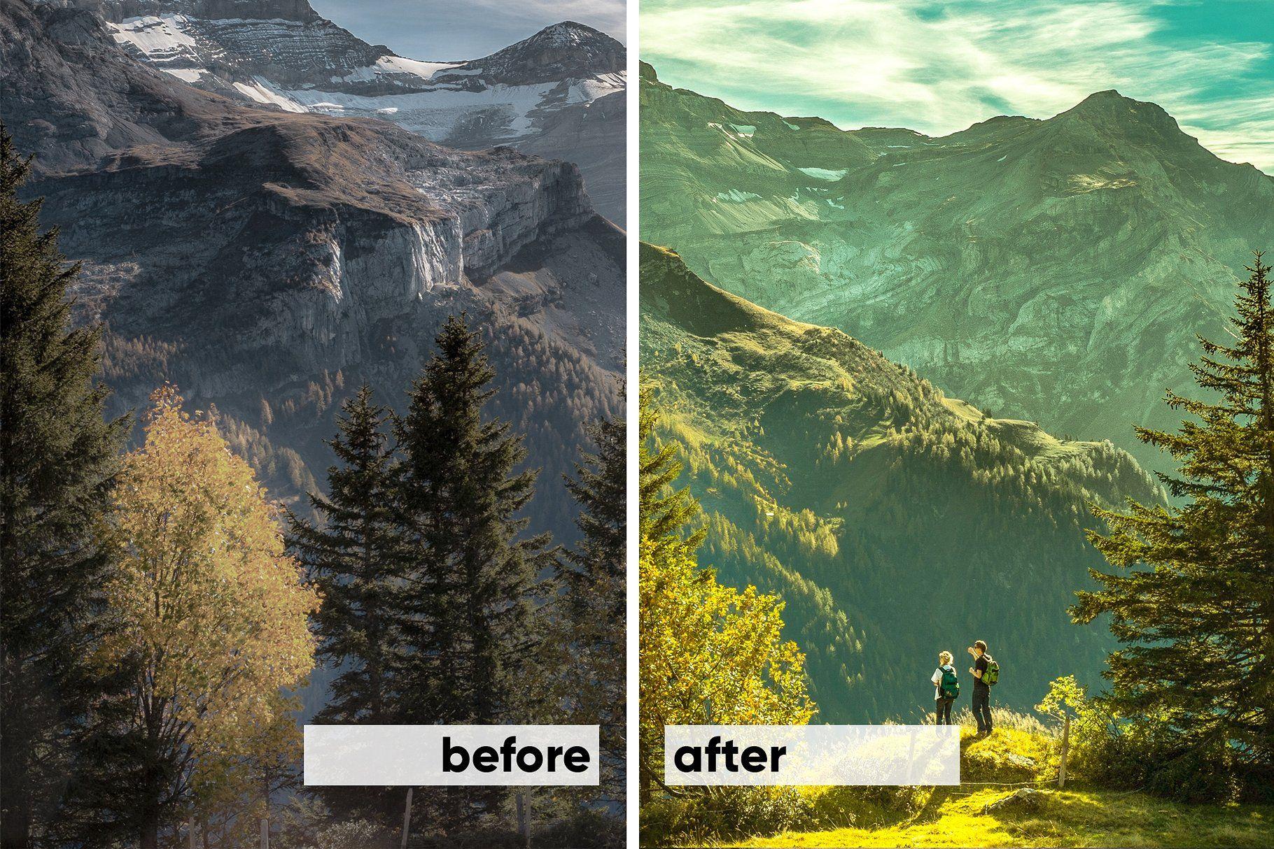 Landscape presets lightroom