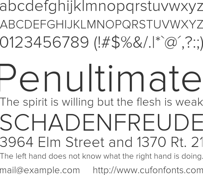 Proxima Nova Lt Font Download Free PC/Mac and Web Font