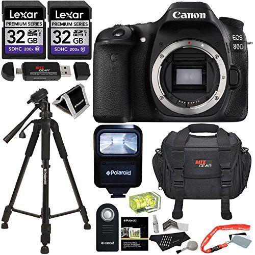 Canon Eos 80d Digital Slr Camera Body Lexar 32gb Memory Http Www Amazon Com Dp B01daf7ap4 Ref Cm Sw R Digital Slr Camera Best Digital Camera Camera Case