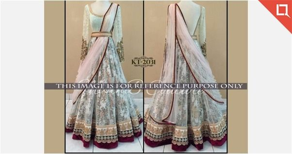 Lehenga fabric resal net and mono dupatta inner also rh pinterest