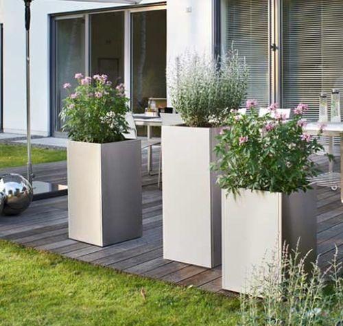 Precious Tall Outdoor Flower Pots