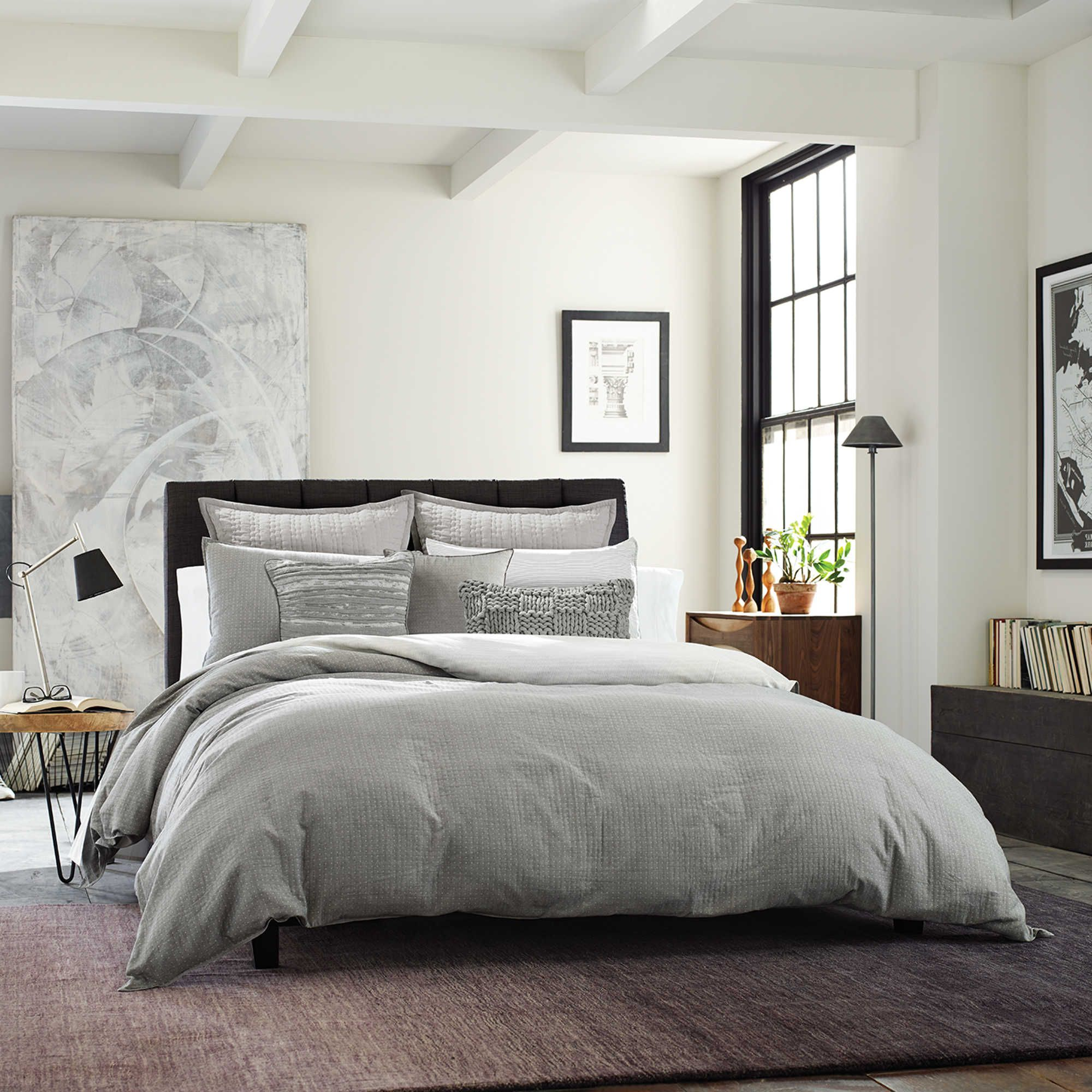 transform your napping session to a tranquil experience with the timeless look of kenneth cole new yorku0026 dovetail duvet cover in a soothing color palette