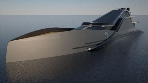Futuristische luxusyachten  Onde 300, futuristic yacht, Federico Pacini, yacht, watercraft ...